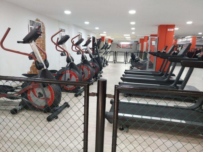 Zona de Cardio Gym Xfit Sant Gervasi