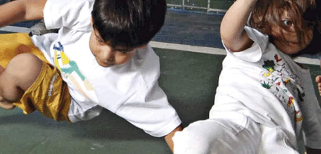 capoeira infantil, capoeira