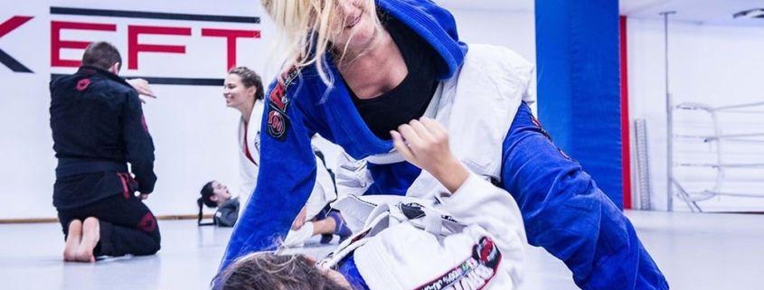 Brazilian Jiu Jitsu Femenino BJJ de Xfit