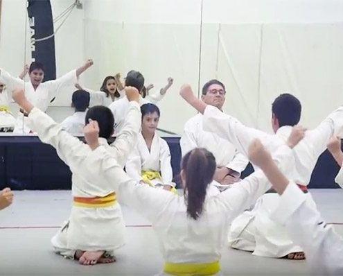Clases de Karate para niños en Barcelona