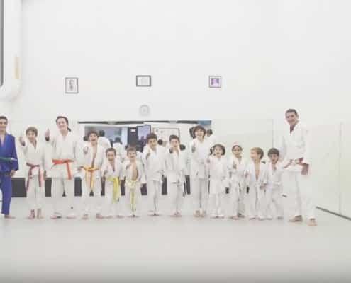 Como son las clases de Judo para niños