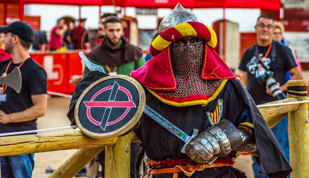 Entrenar combate medieval en Barcelona - Lucha medieval en Xfit