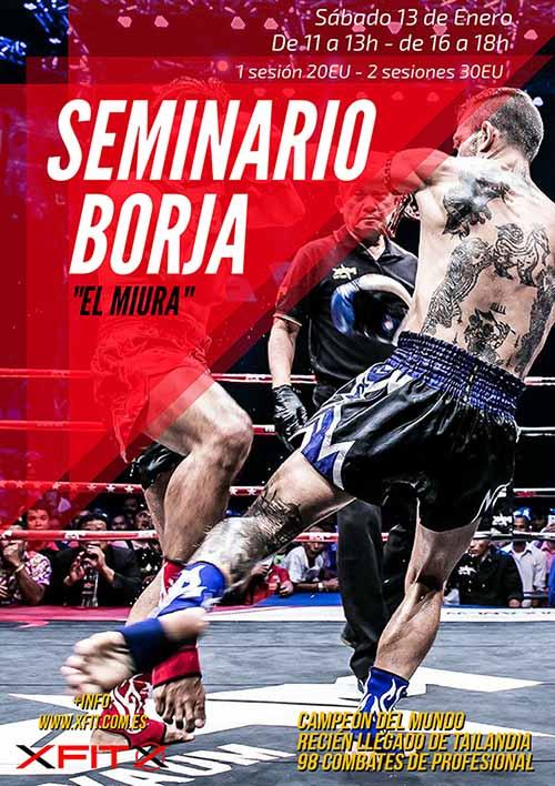 Seminario de Borja Alvárez El Miura de Muay Thai