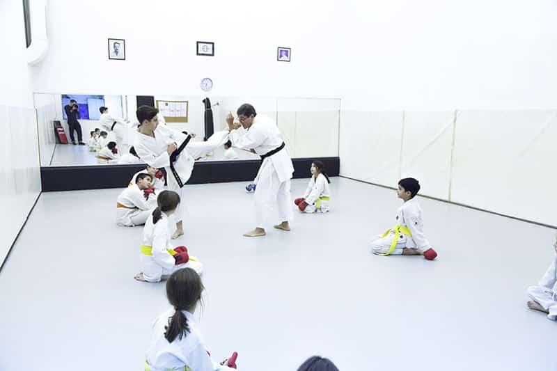 Clases de Karate en barcelona
