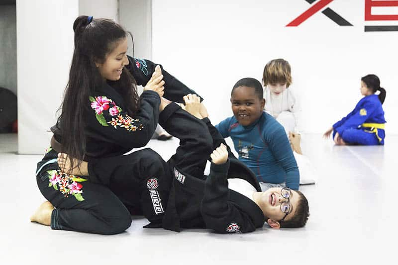 Clases de brazilian jiu jitsu para niños