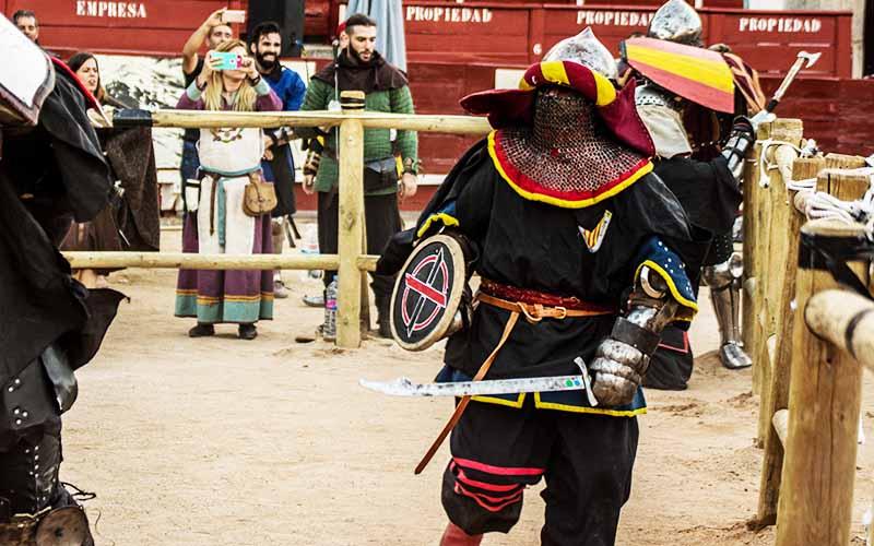 técnicas de lucha medieval