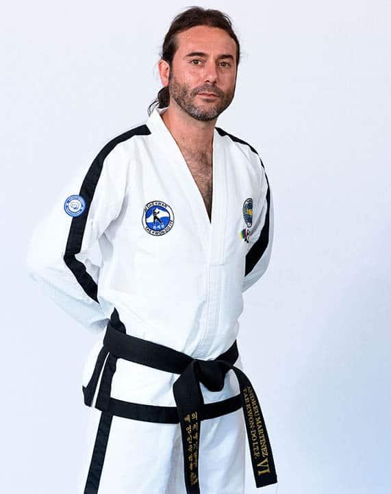 Maestro de Taekwondo Andreu Martinez