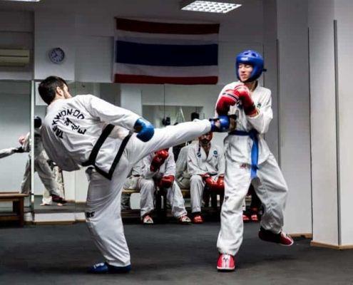 Taekwondo en Barcelona
