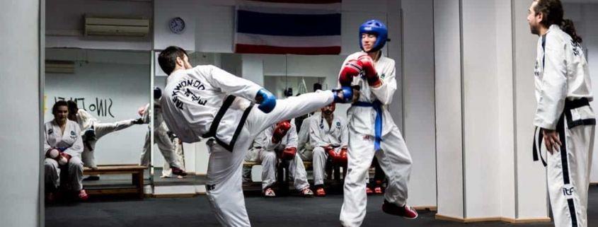 Taekwondo: Tipos de patadas y movimientos básicos