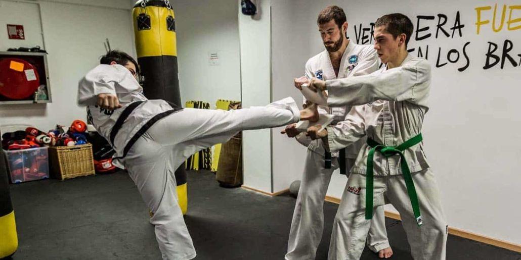 Taekwondo, entrenar taekwon-do en Barcelona