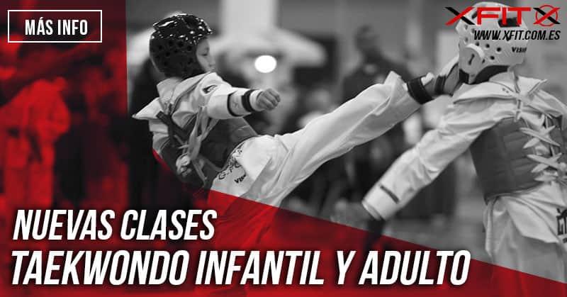 Nuevas clases de Taekwondo infantil