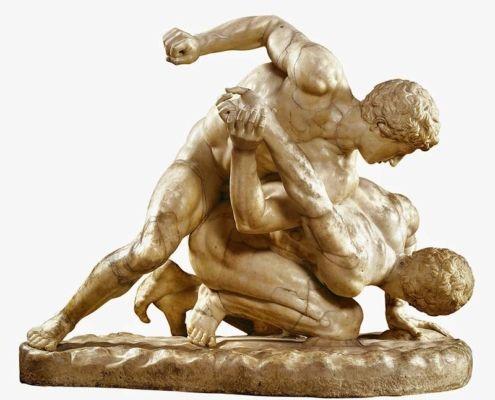 PANCRACIO el antecesor griego de las MMA actuales