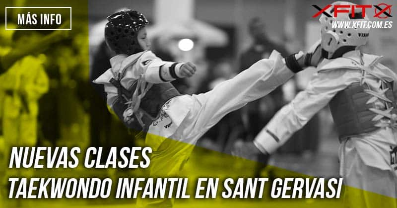 taekwondo infantil barcelona sant gervasi itf