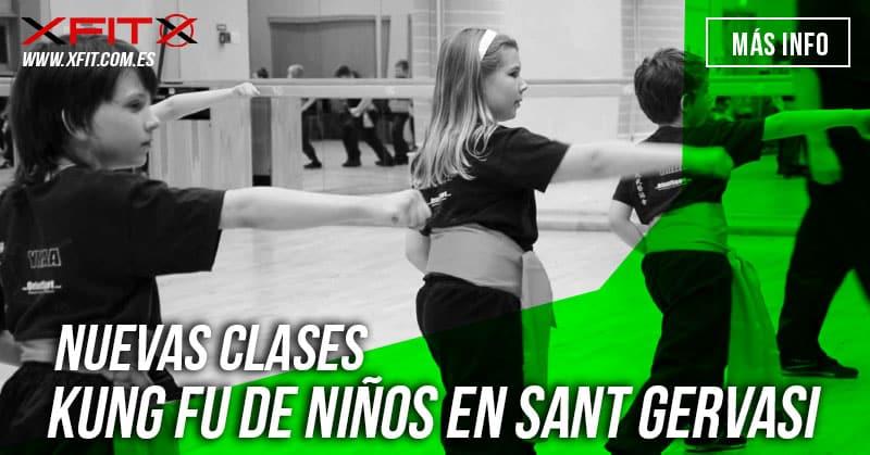 clases de kung fu para niños en barcelona