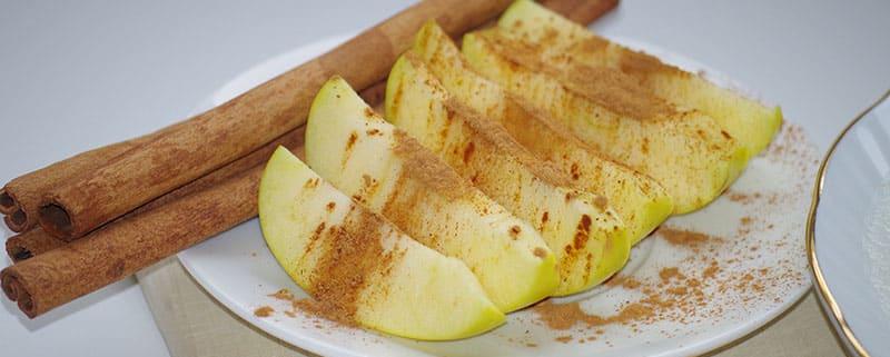 Receta de Barritas proteicas de manzana y canela