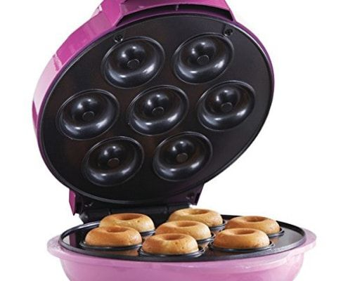 Donuts proteicos de chocolate