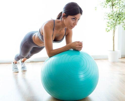 5 ejercicios de Pilates para principiantes