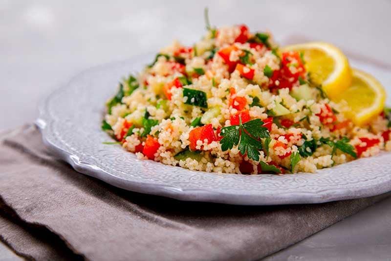 Ensalada de quinoa y perejil