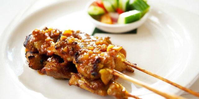 Receta del Pollo Satay