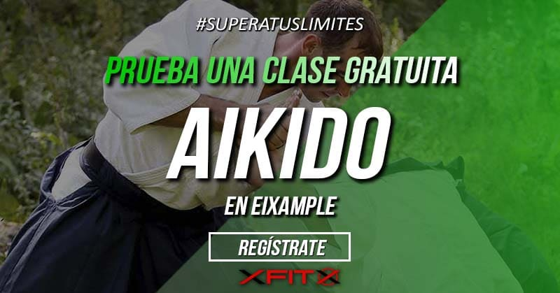 cartel aikido nuevas clases eixample federacion europea