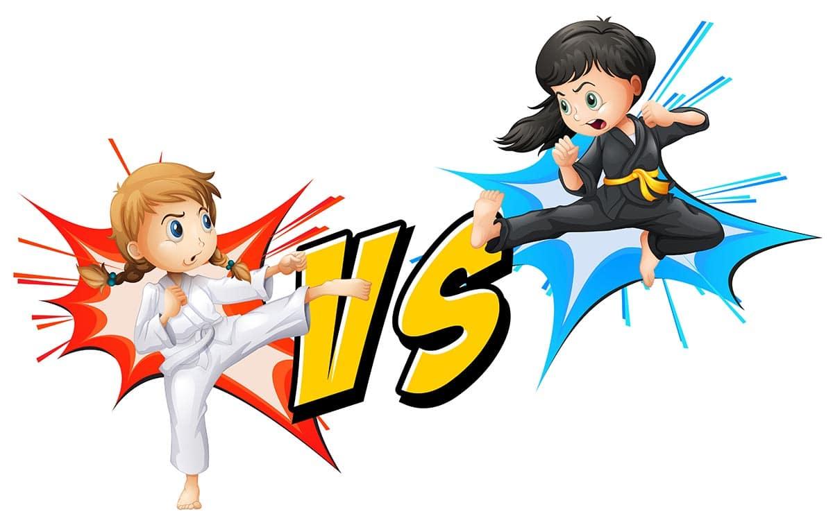 Los beneficios de las artes marciales para niños