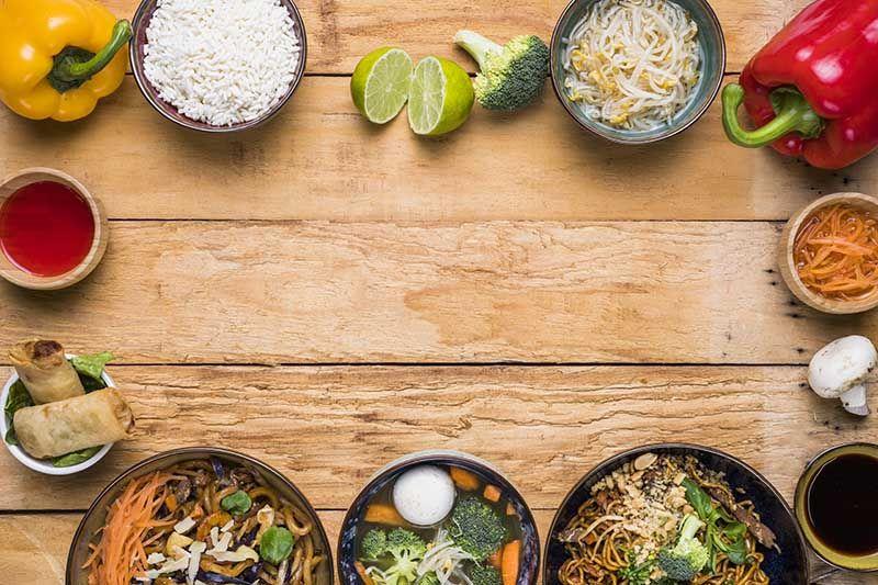 Sopa Tailandesa picante de coco y de curry