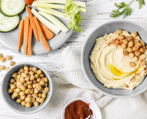 Hummus para hacer en casa   5 ricas recetas saludables