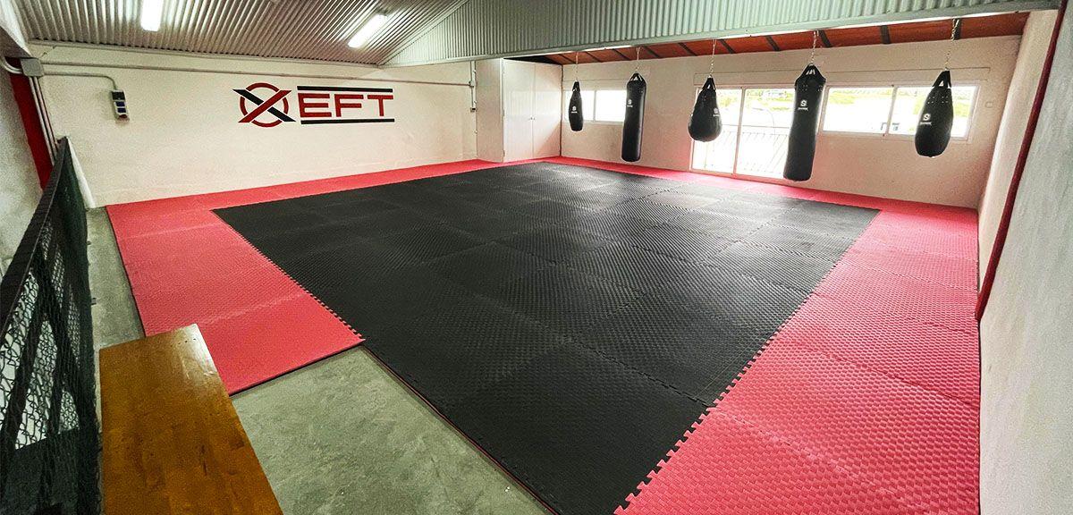 Tatami para deportes de contacto boxeo kick boxing en peal de becerro