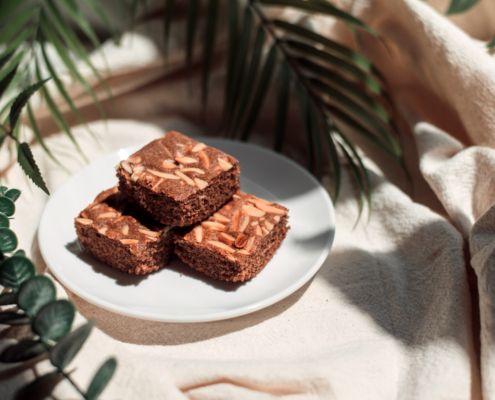 Receta de brownie sano   Es hora de comer rico y saludable
